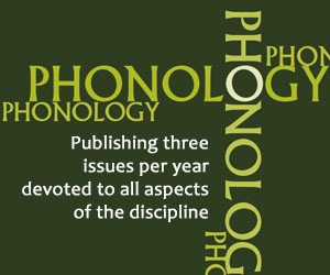 Read Phonology on Cambridge Core