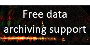 Free Data archiving support