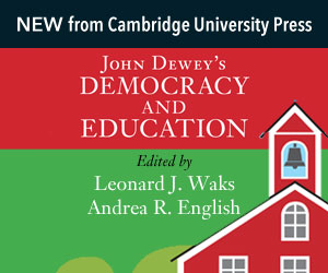 Cover image core_John Dewey's Democracy and Education