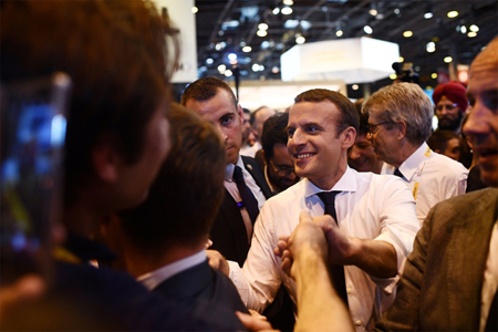 Macron-at-tech-event