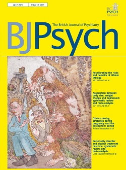 BJPsych Cover