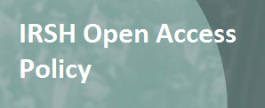 IRSH Open Access Policy