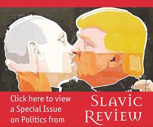 Slavic Review special issue banner