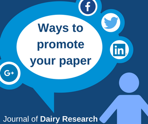 Ways to promote your paper