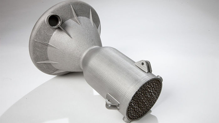 3D printed stainless steel parts
