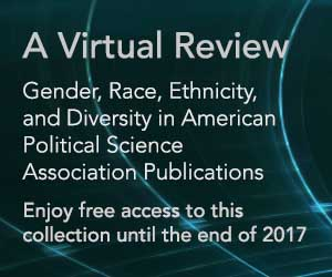 Gender, Race, Ethnicity, and Diversity in APSA Publications