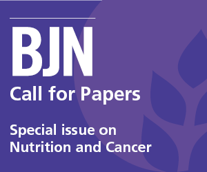 BJN Call for Papers Nutrition and Cancer