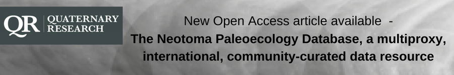 The Neotoma Paleoecology Database, a multiproxy, international, community-curated data resource
