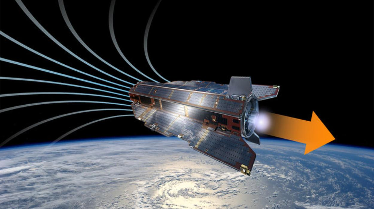 air-breathing satellite
