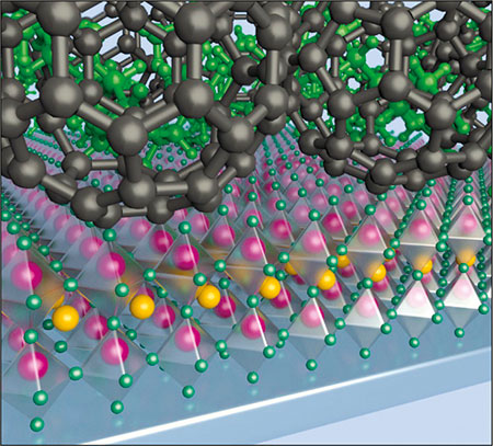 Field-effect transistor is powered by solar energy