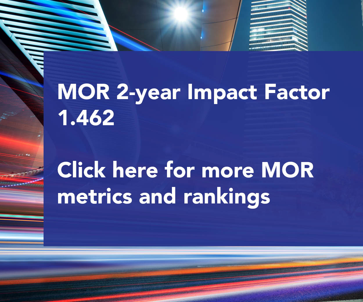 MOR Metrics and Ratings