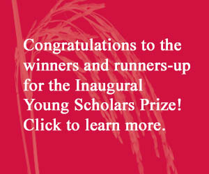 Click to read the Young Scholar Prize winners