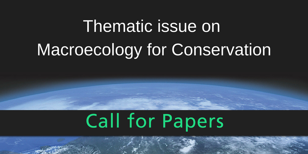 ENC Thematic issue on Macroecology for Conservation (4)