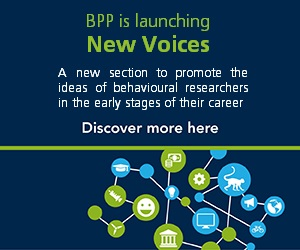 "Behavioural Public Policy - Launch of new journal section ""New Voices"""
