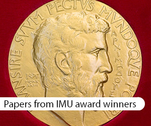 IMU award winners banner