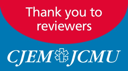CEM thank you to reviewers