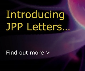 Introducing JPP Letters