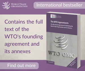 WTO Agreements WTR graphic