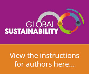 Global Sustainability - Instructions for authors
