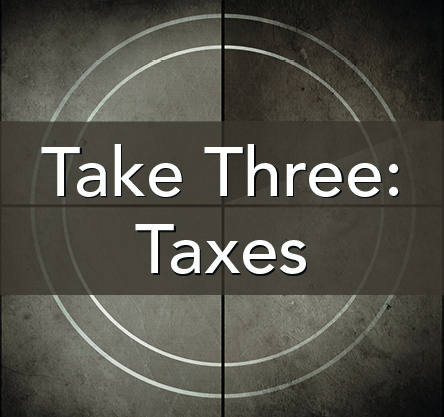 Latest Take Three from Modern American History - all about American taxes