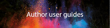Author user guides button