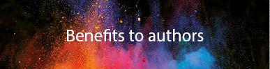 Benefits to authors button