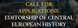 Call for Proposals Editorship of CEHJ