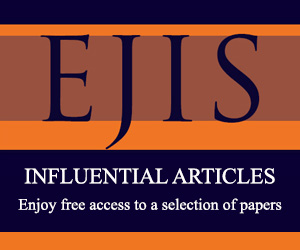 EJIS influential articles banner