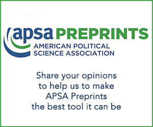 APSA Preprints Core banner panel 1