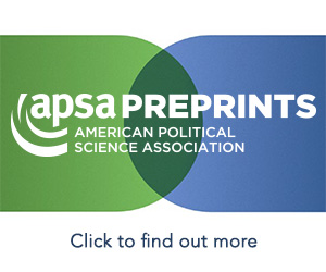 APSA Preprints Core banner 5