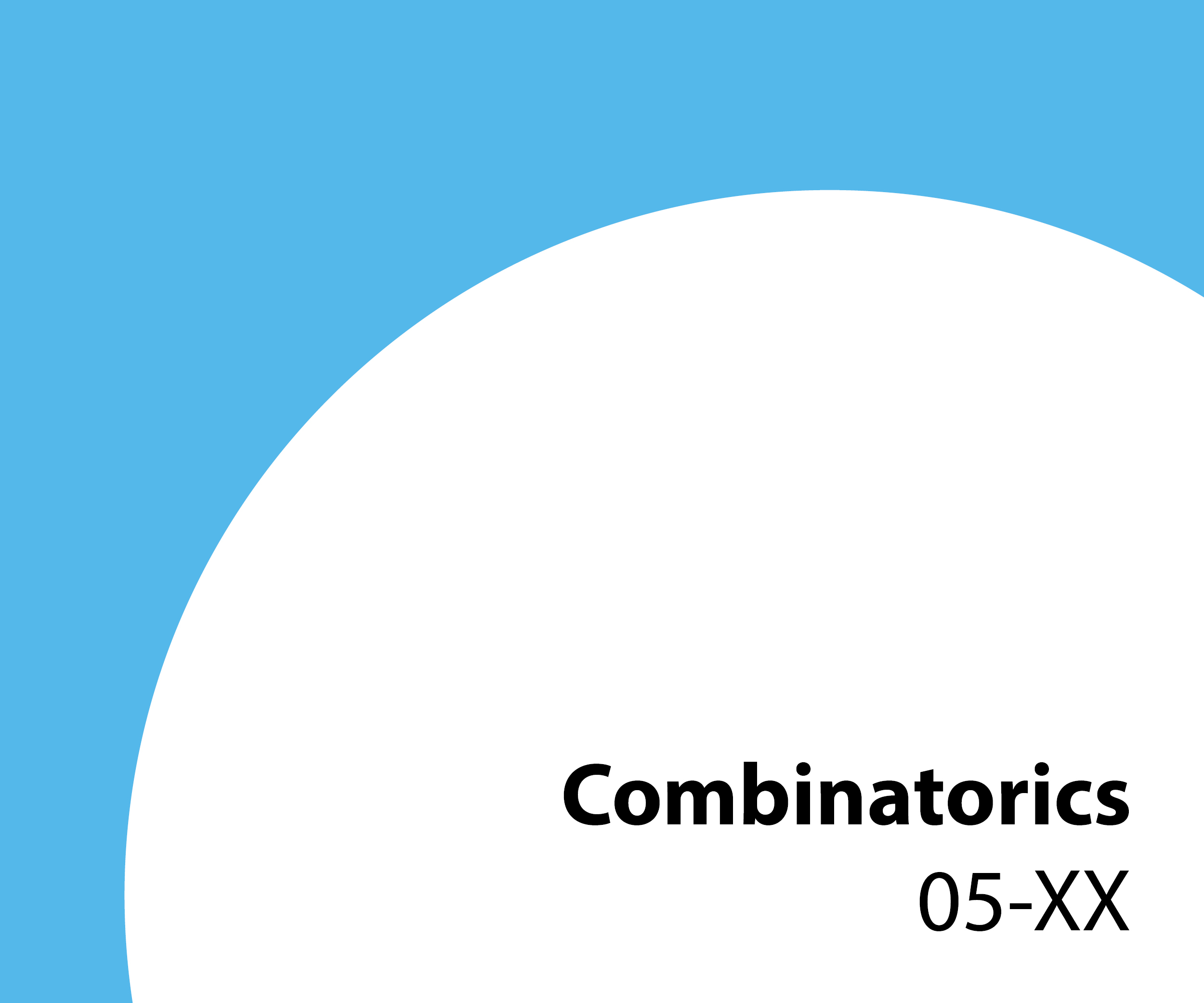 05-xx Combinatorics