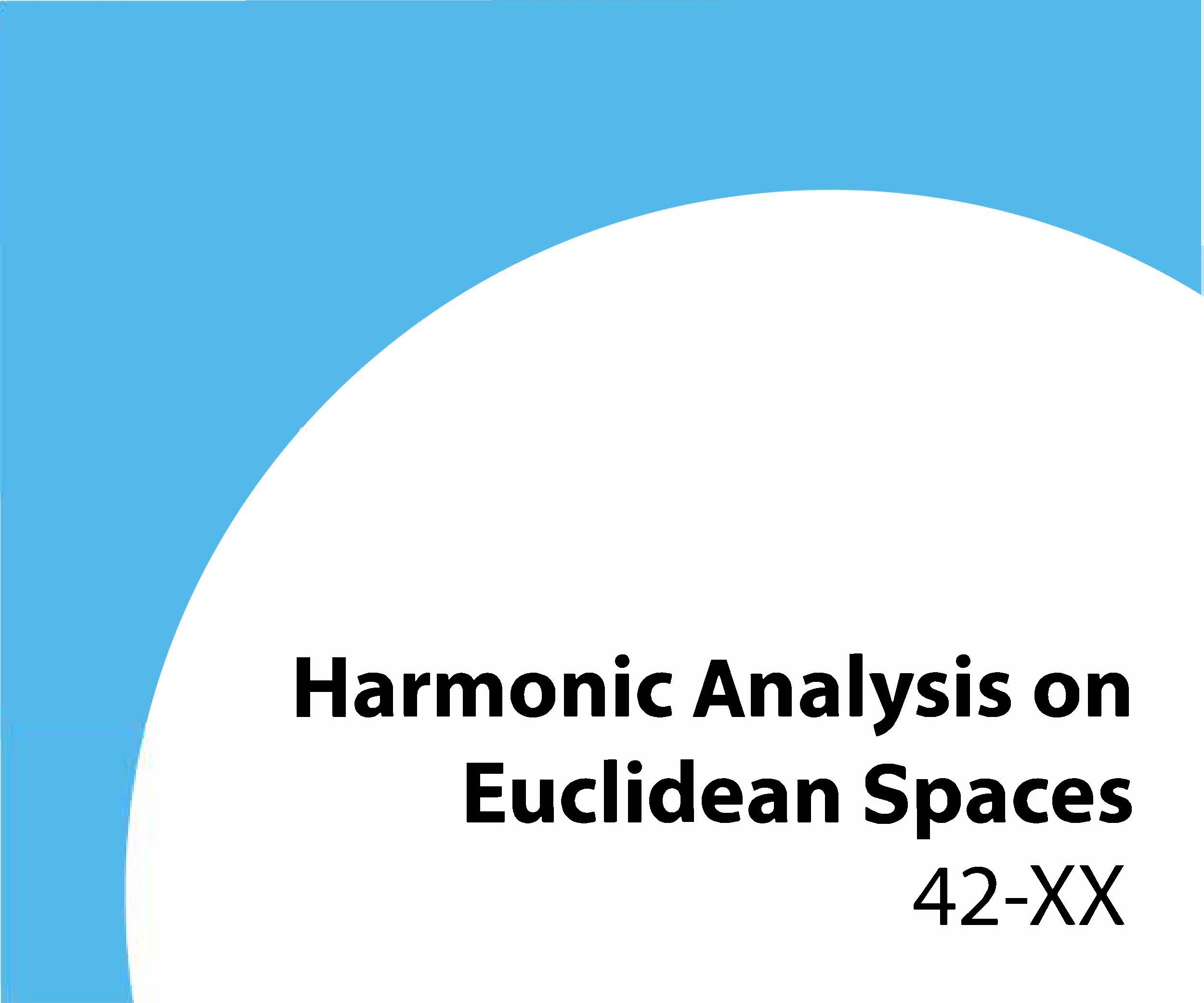 42-xx Harmonic analysis on Euclidean spaces