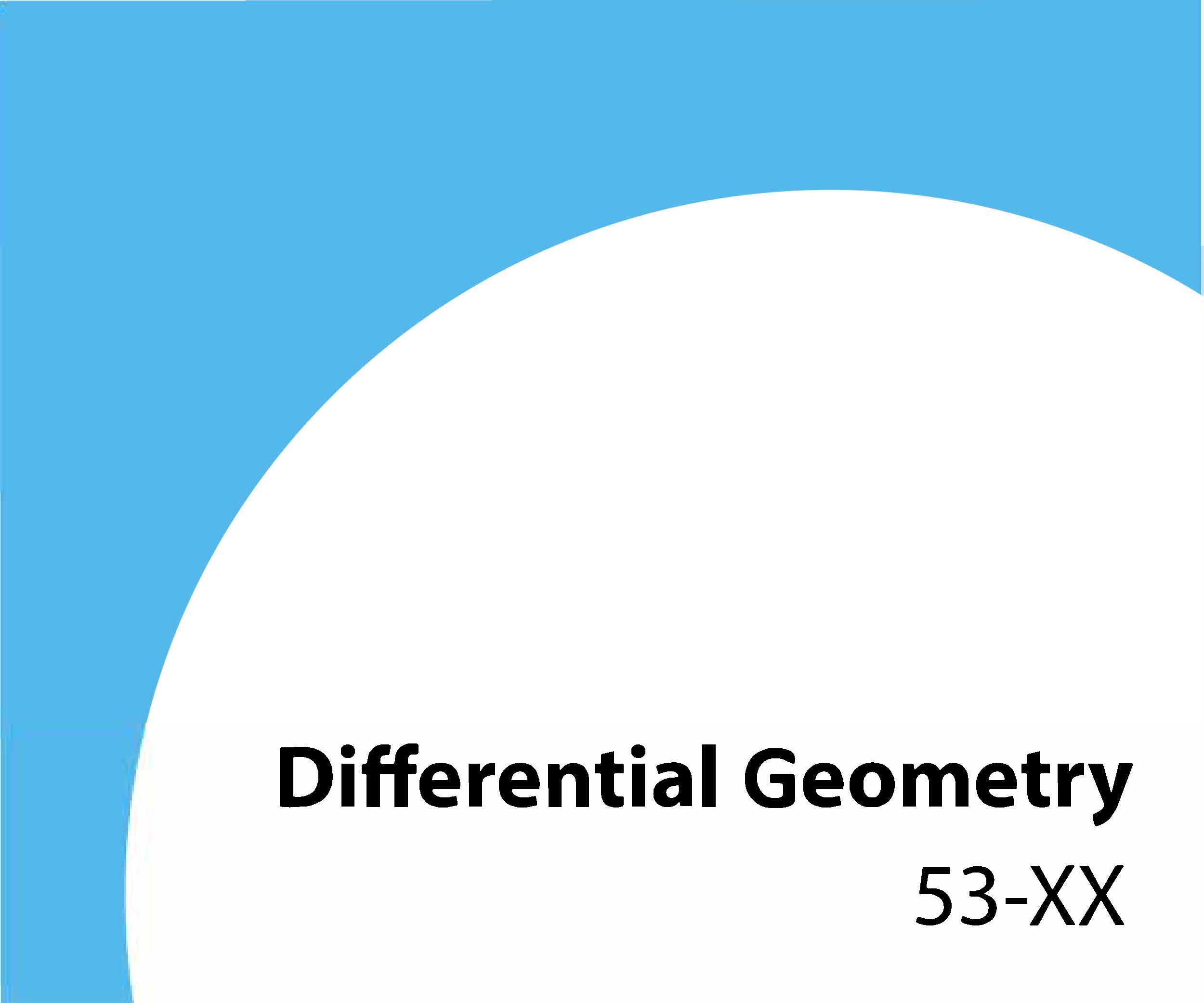 53-xx Differential geometry