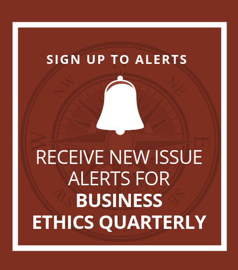 Business Ethics Quarterly | Cambridge Core