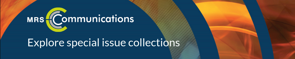 MRC Special Issue Collections Banner