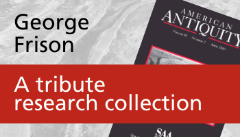 George Frison - A tribute research collection