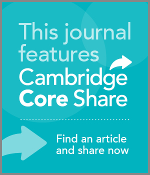 Cambridge Core Share Button