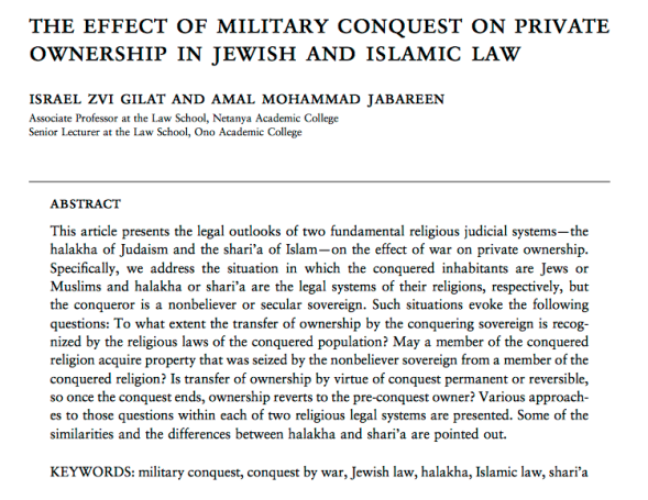 Example title page for JLR article