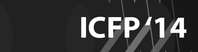 Article collection from 2014's ICFP conference