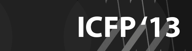 Article collection from 2013's ICFP conference
