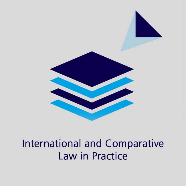 International and comparative law in practice