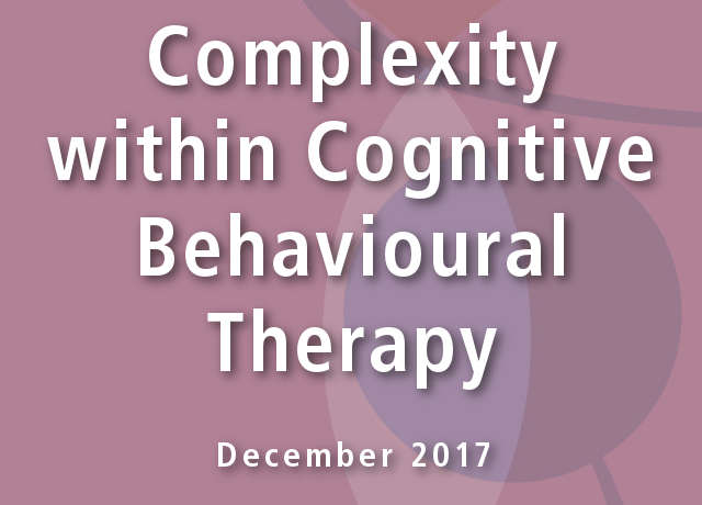 Complexity within Cognitive Behavioural Therapy