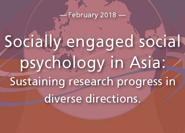 Socially engaged social psychology in Asia