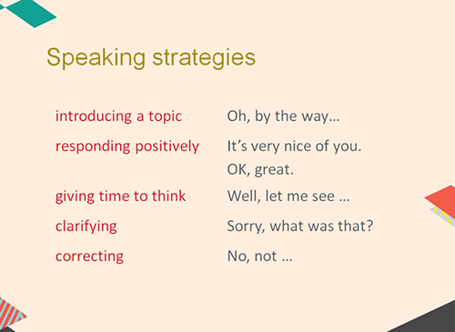 More than just speaking - developing student speaking skills ...