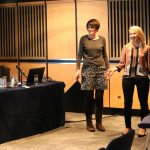 Anne O'Keefe and Geraldine Mark presenting at IATEFL 2016