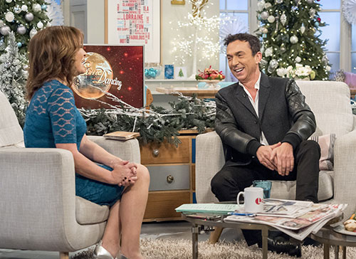 Bruno Tonioli on the Lorraine Kelly show