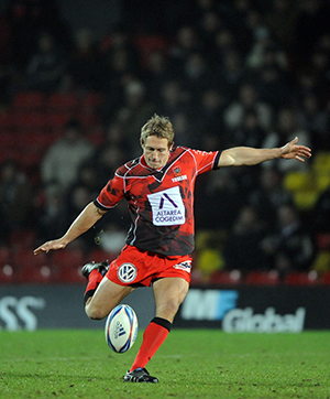 Jonny Wilkinson drop goal for Toulon