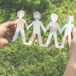paper people chain