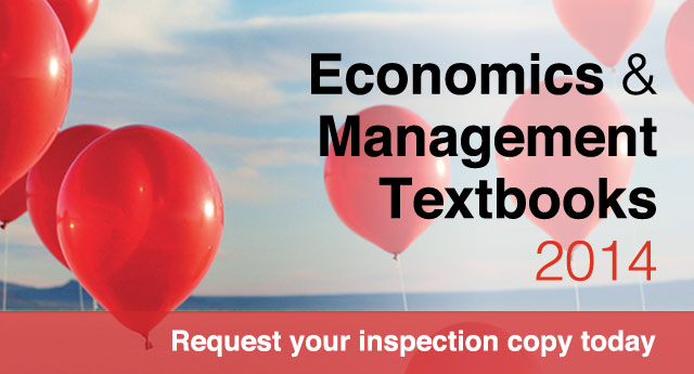 Economics Management Textbooks 2013