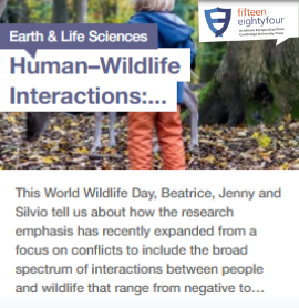 Human-Wildlife Blog button